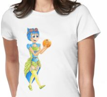 Steampunk Joy Mash Up Inside Out Womens Fitted T-Shirt