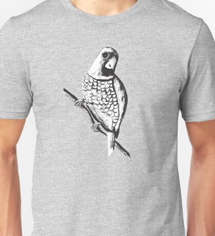 Scaly Breasted Munia 2 Unisex T-Shirt