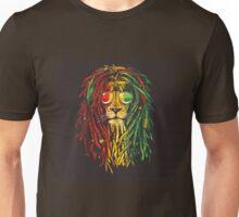 lion rasta and jamaican Unisex T-Shirt