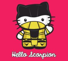 hello scorpion by DKD0o0