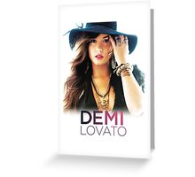 Hot Demi Lovato  Greeting Card