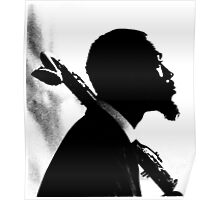 Eric Dolphy Bass Clarinet Poster