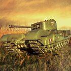 Churchill Tank by peaky40
