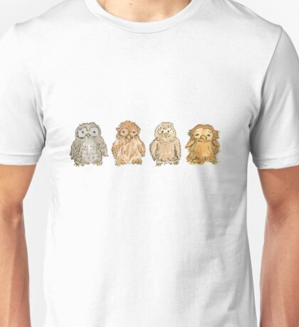 Four Owls Unisex T-Shirt