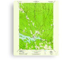 New York NY Redfield 136039 1942 24000 Canvas Print