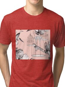 bird in the cage  Tri-blend T-Shirt