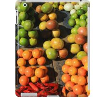 Fresh Fruits and Vegetables at the Market iPad Case/Skin