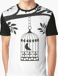 Bird Cage   Graphic T-Shirt