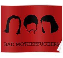 Pulp Fiction // Bad MotherF**kers Poster