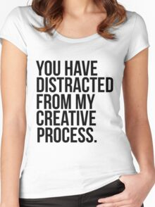 Creative Process Women's Fitted Scoop T-Shirt