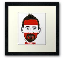 EURO  2016 Austria Framed Print