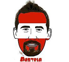 EURO  2016 Austria Photographic Print
