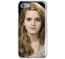 Beautiful Emma Watson by sitorus iPhone Case/Skin