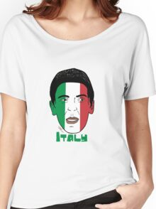 EURO  2016 Italy Women's Relaxed Fit T-Shirt
