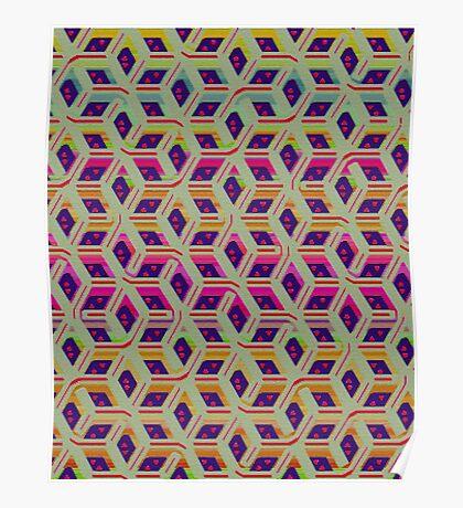 dunnoz knit #1 Poster