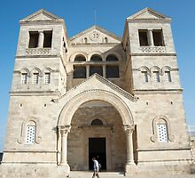 church of the Transfiguration, mount Tabor by PhotoStock-Isra