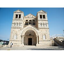 church of the Transfiguration, mount Tabor, Photographic Print