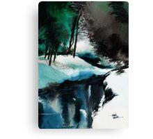 Ice Land Canvas Print