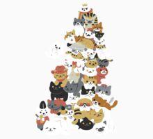 cat pile One Piece - Short Sleeve