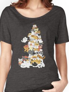 cat pile Women's Relaxed Fit T-Shirt