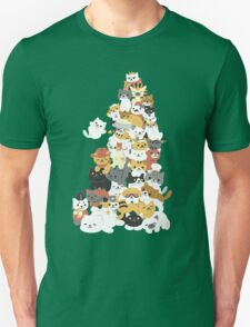 cat pile T-Shirt