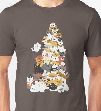 cat pile Unisex T-Shirt