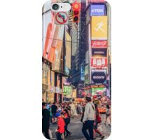 Times Square Summer iPhone Case/Skin