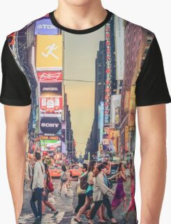 Times Square Summer Graphic T-Shirt