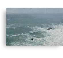 The Tiny Ocean Canvas Print