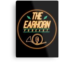 The EarHorn Podcast! Metal Print