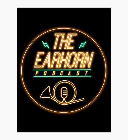 The EarHorn Podcast! Photographic Print