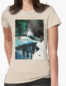 Ice Land Womens Fitted T-Shirt
