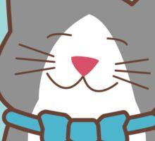 Tuxedo Cat Love Sticker