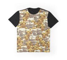 Sehun Meme Collage Graphic T-Shirt