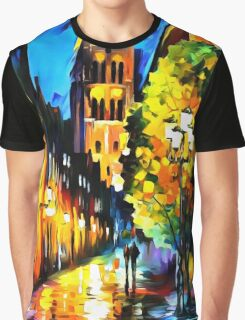 The Lights of The Old Town Graphic T-Shirt
