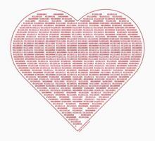 Binary Heart Kids Tee