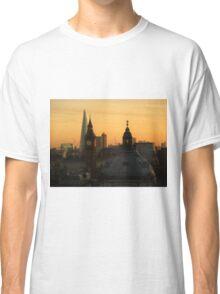 Beautiful London winter morning Classic T-Shirt