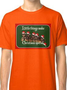 Little Things Make Christmas Special Vector Classic T-Shirt
