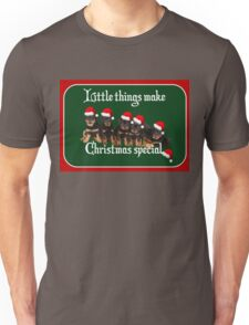 Little Things Make Christmas Special Vector Unisex T-Shirt