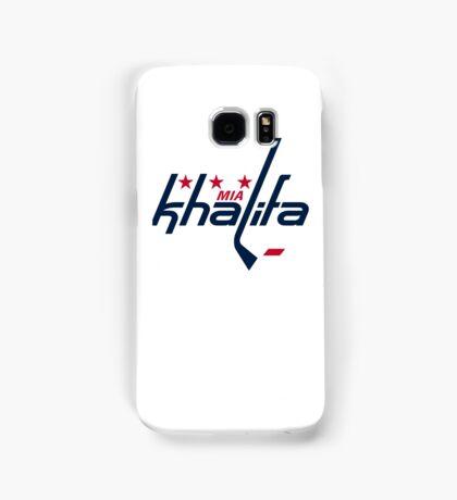 Mia Khalifa Caps Logo Samsung Galaxy Case/Skin