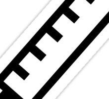 Hypodermic needle syringe logo icon sticker Sticker