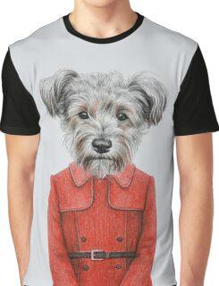 dog girl Graphic T-Shirt