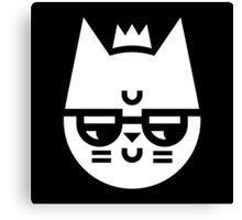 Cynical Cat Canvas Print