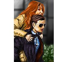 Karen Gillan and Matt Smith Photographic Print