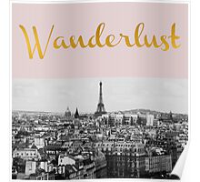 Wanderlust (Paris) Poster