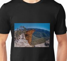 Hanging Rock, Blue Mountains, Australia Unisex T-Shirt