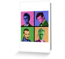 DR WARWHOL Greeting Card
