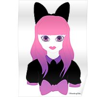 Doll Face Pink Poster