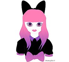 Doll Face Pink Photographic Print