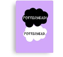 Potterhead - TFIOS  Canvas Print
